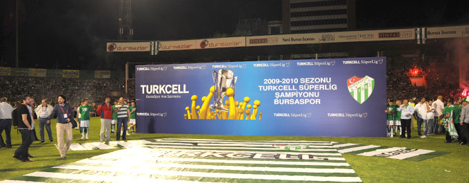 Playmaker Organized The Pre Match And Cup Handover Ceremony At Final Day Of Turkcell Super League 2009 2010 March With Was Art