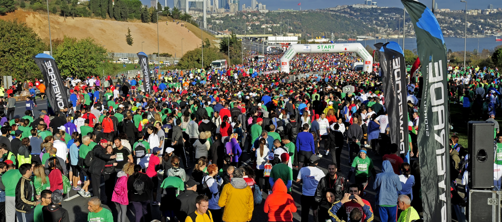 PLAYMAKER SERVED TO 5 CLIENTS AT THE 35th VODAFONE ISTANBUL MARATHON